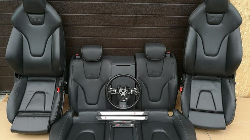Interior Audi A5 S5  Original Piele Neagra