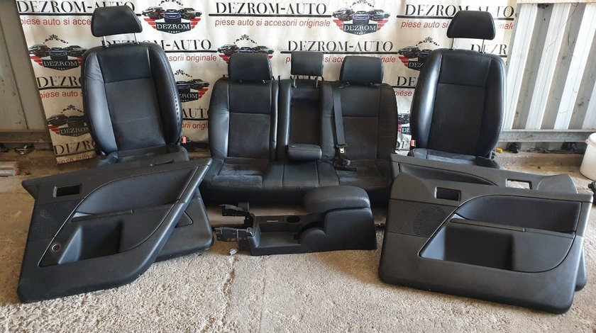 Interior complet piele + alcantara / incalzire / ventilatie Ford Mondeo MK3 an 2007