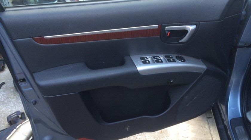 Interior complet piele Hyundai Santa Fe 2008
