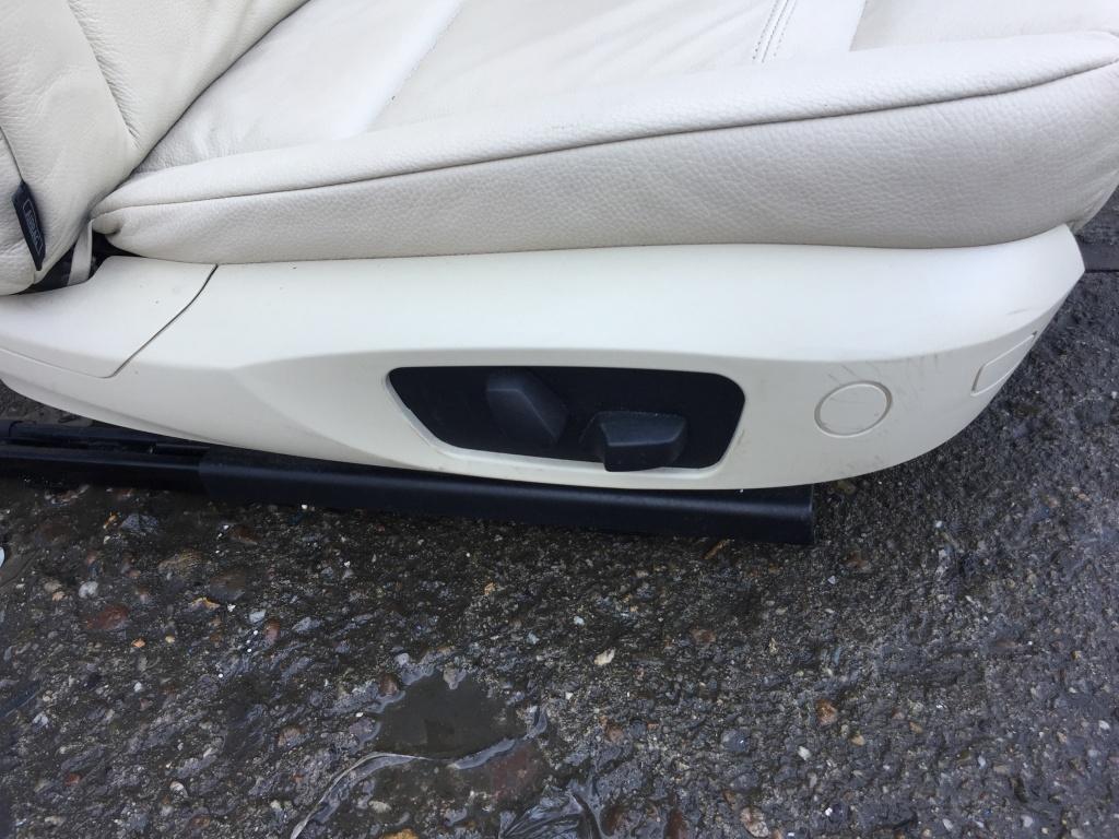 Interior crem din piele BMW Seria 3 E92