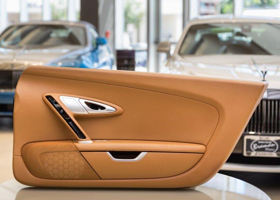 Interior de Bugatti Veyron la vanzare