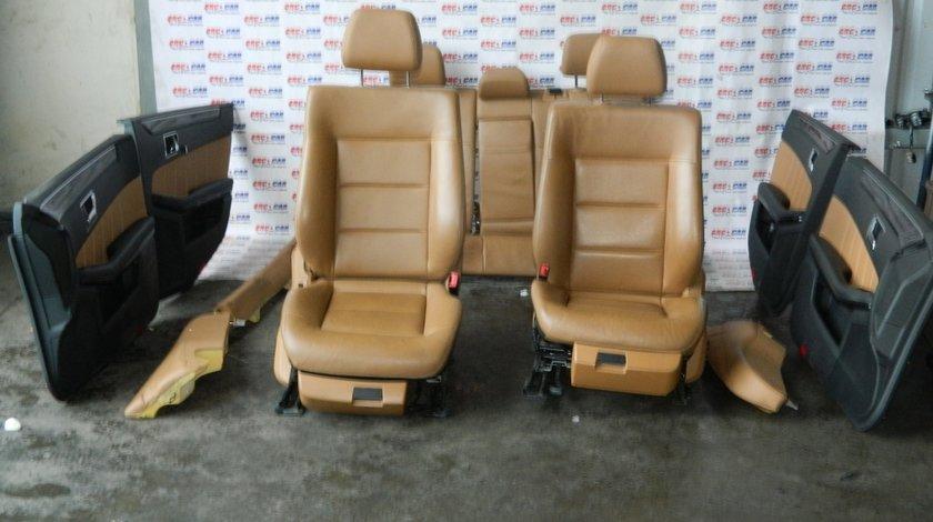 Interior de piele maro Mercedes E- classe / E-class W212 Limuzina stare impecabila