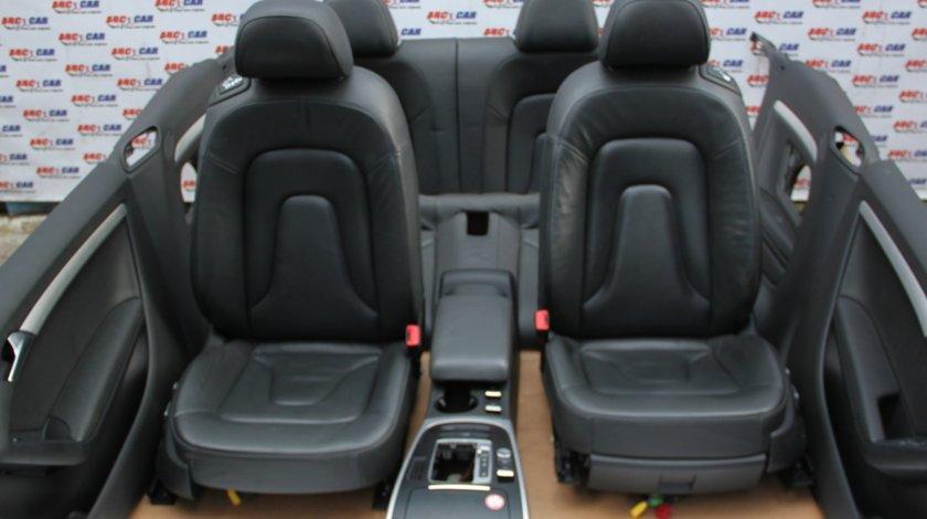 Interior din piele electric Audi A5 8F Cabrio model 2013