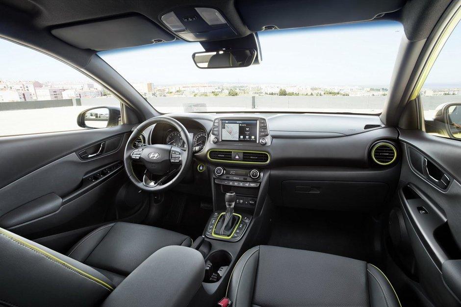 Interior Hyundai Kona