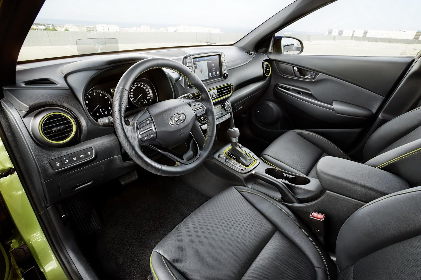 Interior Hyundai Kona - Interior Hyundai Kona