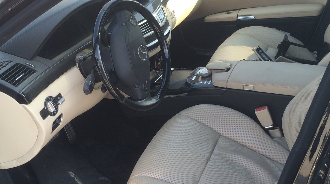 Interior Mercedes S-class W221 2008 model lung