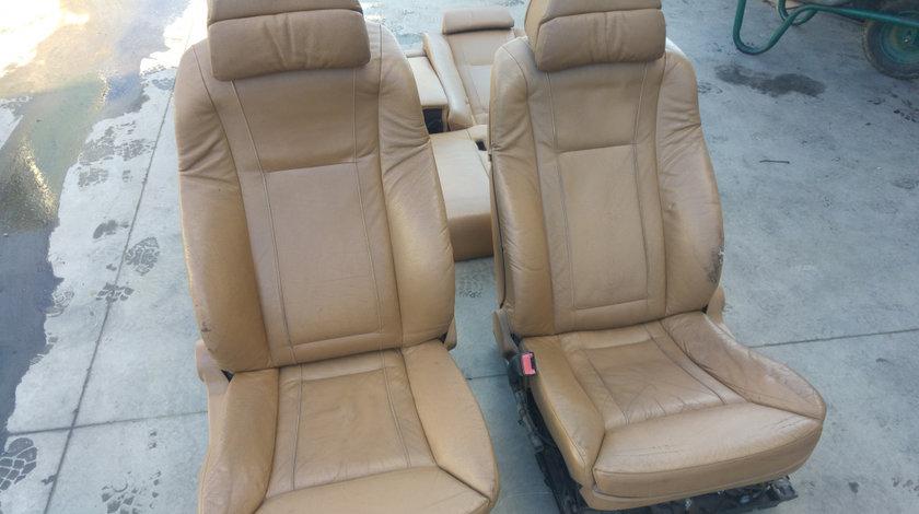 Interior piele bmw seria 7 e65 scaune full electric cu incalzire complete cu motorase