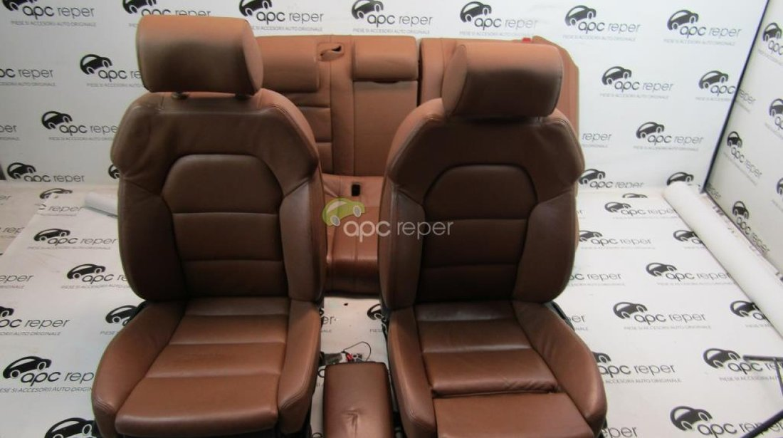Interior piele complet Audi A6 4F Facelift 2010 - 2,0Tdi