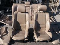 Interior piele crem, BMW Seria 3 E46, caroserie Sedan, fabr. 2002