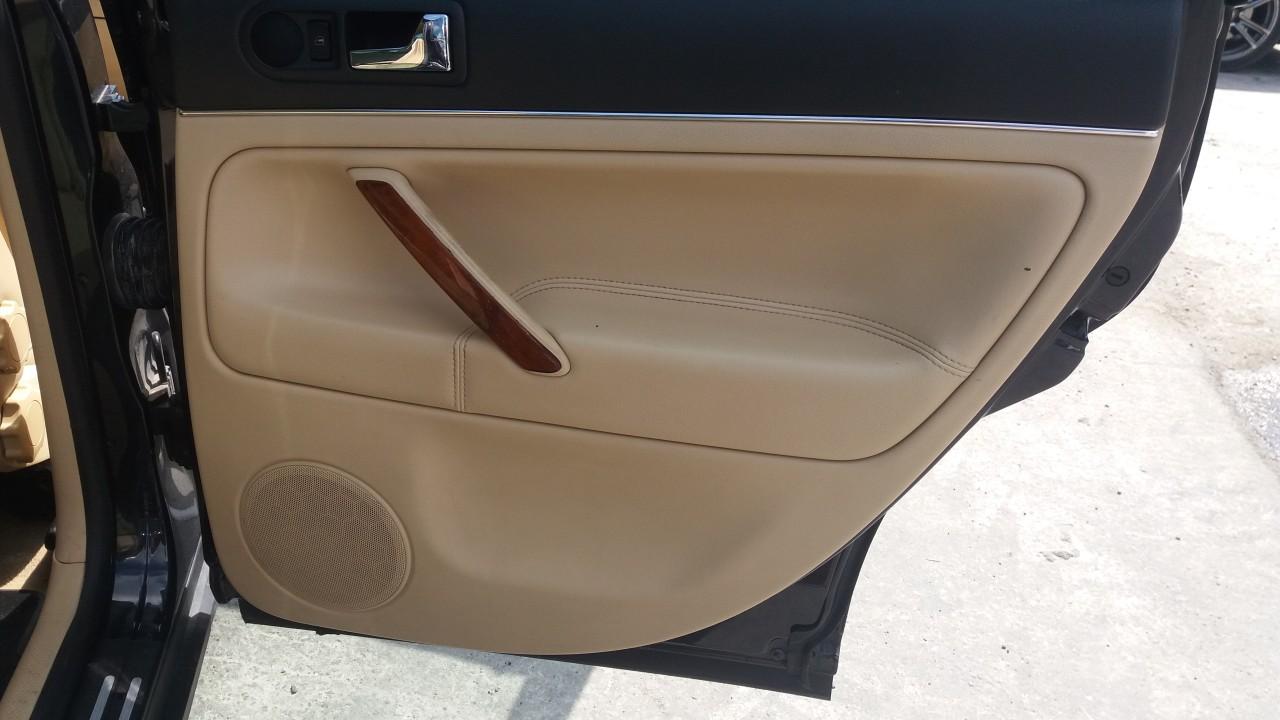 Interior piele crem,VW Passat B5.5, caroserie Caravan, fabr. 2003