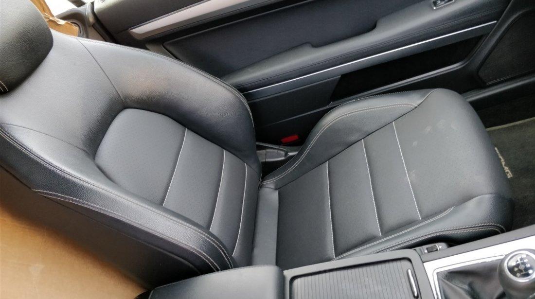 Interior piele Mercedes E Class coupe C207 2009 // 2016