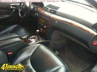 Interior piele neagra mercedes s classe w220