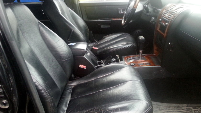 Interior piele neagra (scaune, banchete, fete usi), Hyundai Terracan fabr. (2001 - 2008)