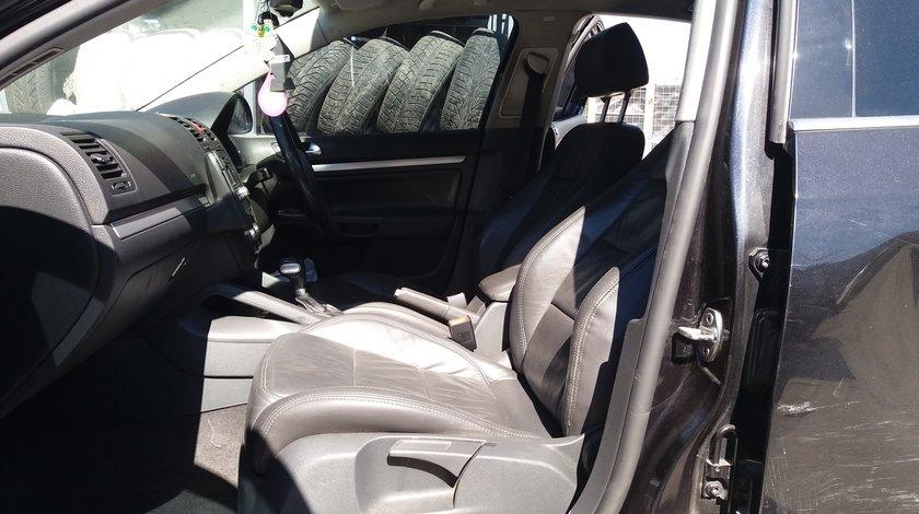 Interior piele neagra, Volkswagen Jetta , (scaune, banchete) , fabr. 2005 - 2009