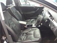 Interior piele neagra, Volkswagen Passat B6 Variant, an fabr. 2008