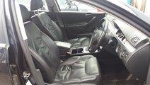 Interior piele neagra, Volkswagen Passat B6 Varian...