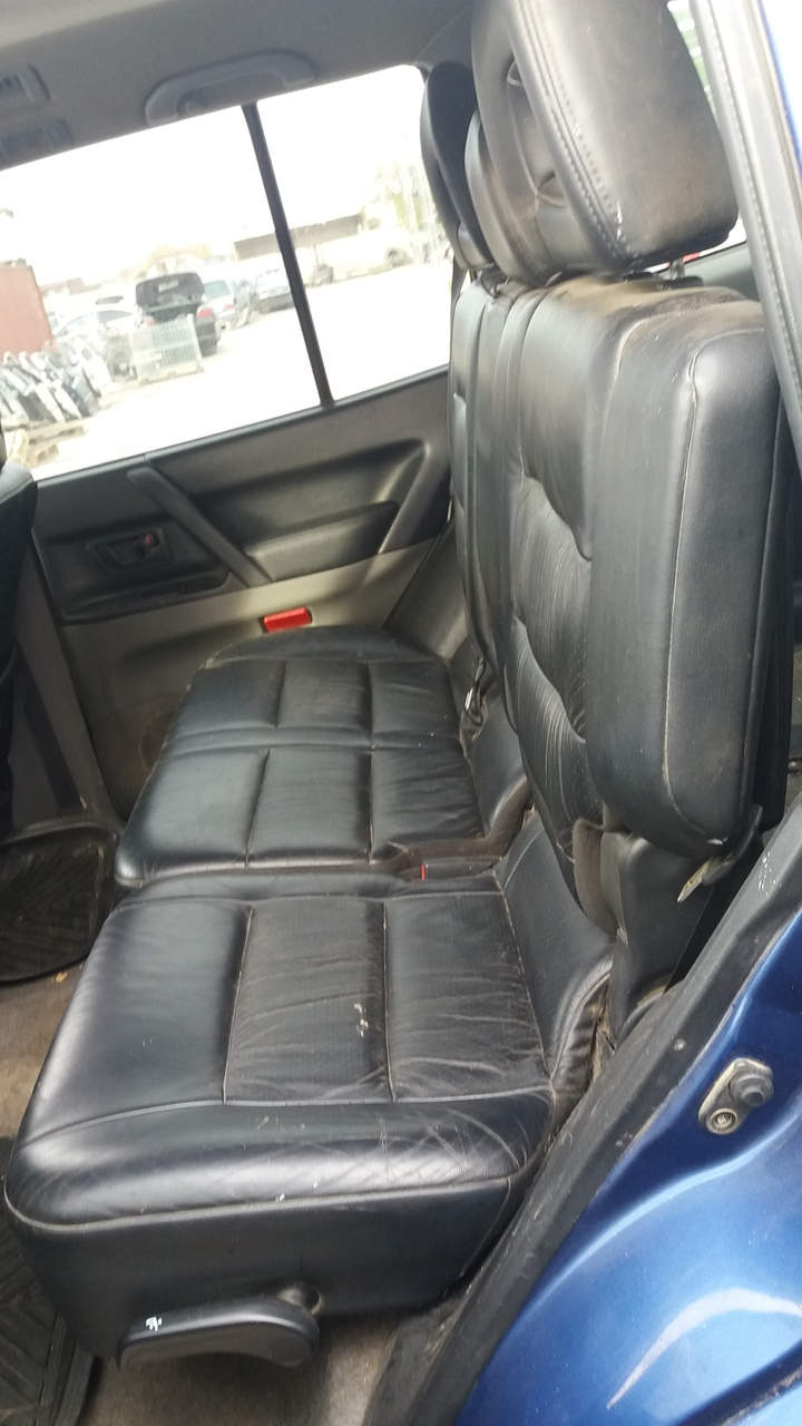 Interior piele negru, Mitsubishi Pajero V60, fabr. 2002