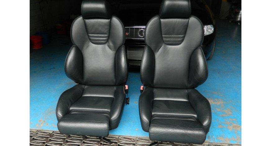 Interior piele scaune+bancheta Recaro Audi A4 S4 B5