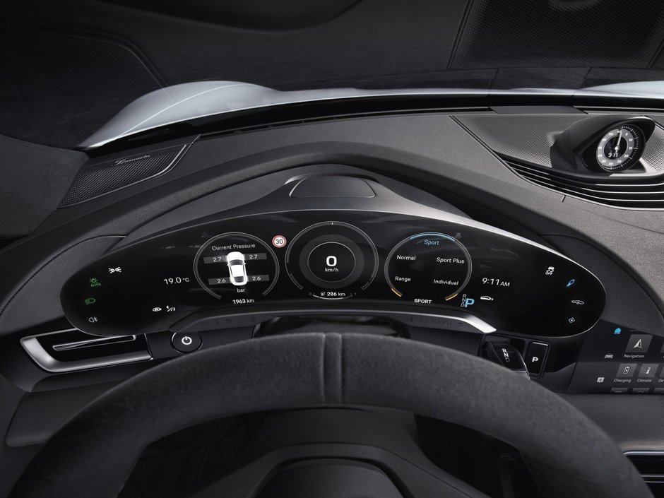 Interior Porsche Taycan