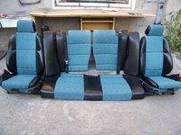 Interior recaro scaune si banchete semipiele bmw e36 coupe