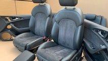 Interior S-line Audi A6 4G Scaune S-line electrice...
