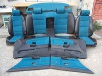 Interior scaune banchete fete de usi semi piele bmw e36 berlina