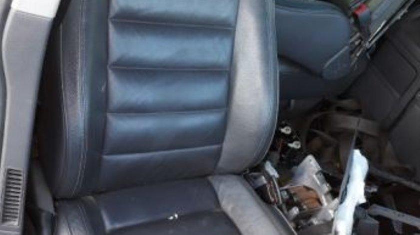 Interior scaune piele fete usi volan stanga vw touareg 7l bks 225hp mo