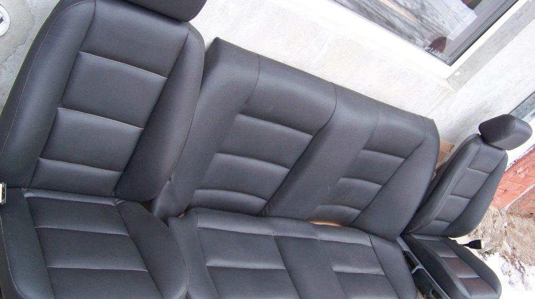 Interior scaune si banchete piele bmw e36 sedan 4 usi