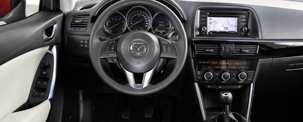 Interiorul Mazda CX-5 a fost ales unul dintre cele mai bune din industrie