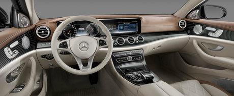Interiorul noului Mercedes E-Class e... exact asa cum ne asteptam sa fie