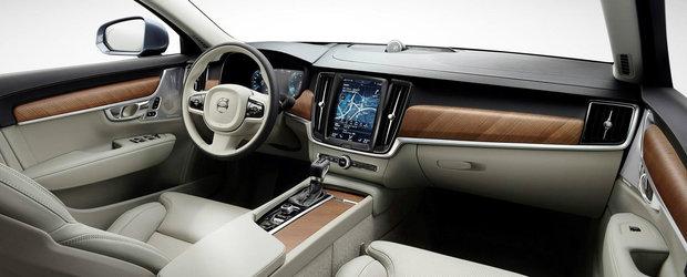 Interiorul noului Volvo S90 te face sa vrei sa renunti la Audi A6, BMW Seria 5 si Mercedes E-Class