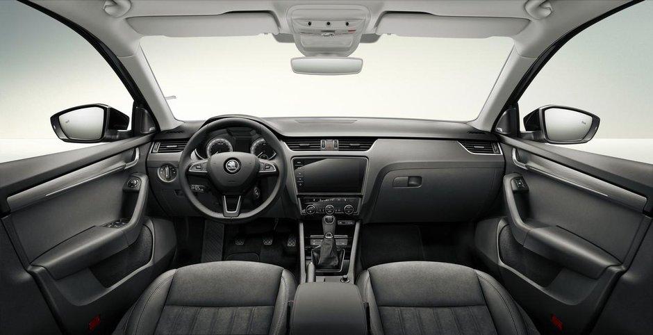Interiorul Skodei Octavia facelift