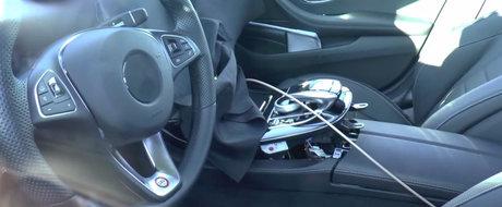 Interiorul urmatorului Mercedes E-Class ni se arata din noi unghiuri