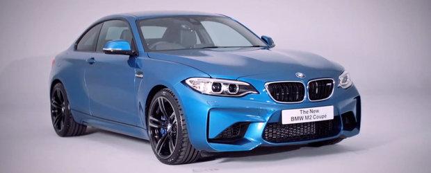Internetul ne face turul noului BMW M2 Coupe