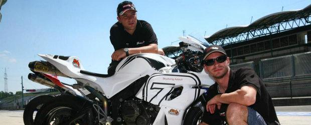 Interviu cu Petre Pop, primul motociclist roman care alearga la Isle of Man
