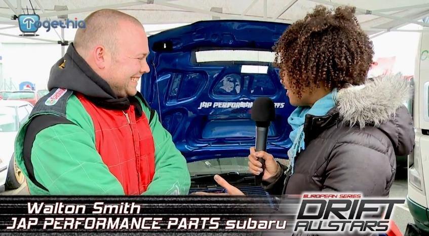 Interviu cu Walton Smith, participant la Drift Grand Prix of Romania