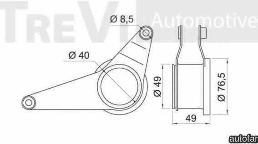 Intinzator curea, curea distributie BMW 3 (E36) AKUSAN LCC9212