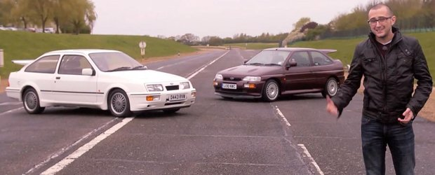 Intoarcere in timp cu Ford Sierra RS Cosworth si Escort RS Cosworth