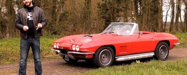 Intoarcere in timp cu originalul Chevrolet Corvette Stingray