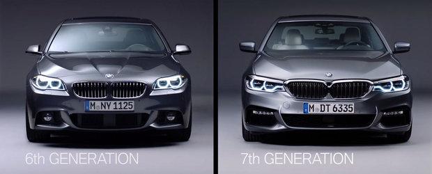 Intra AICI si vezi care sunt diferentele dintre noul si vechiul BMW Seria 5