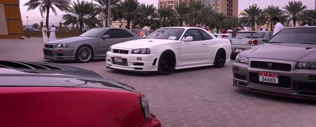 Intra AICI si vezi de aproape cele mai frumoase Nissan-uri Skyline din... Orientul Mijlociu