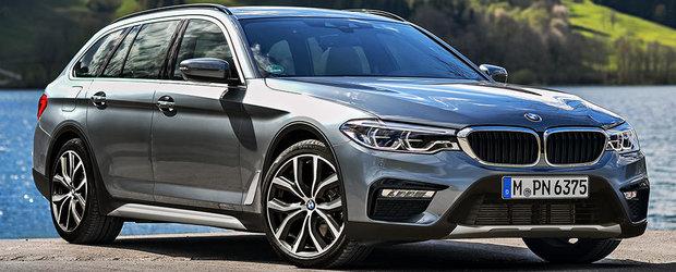 Intra si BMW in joc? Cum ar arata noul Seria 5 daca de maine ar concura si cu A6 allroad