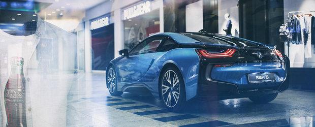 Intre 18-21 august la Bucuresti poti admira si explora un BMW i8 realizat in doar 10 exemplare