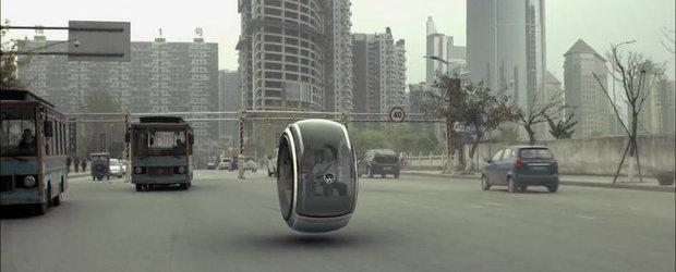 Intre fantezie si realitate: Masina zburatoare de la Volkswagen