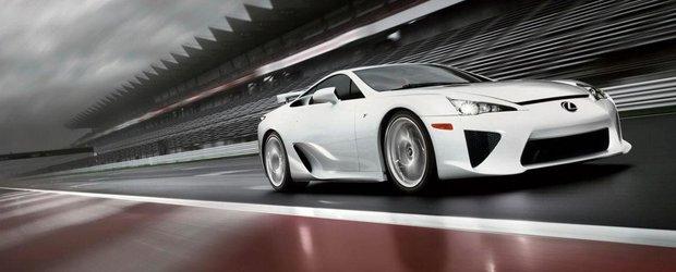 Intreaga productie a modelului Lexus LFA a fost aproape vanduta