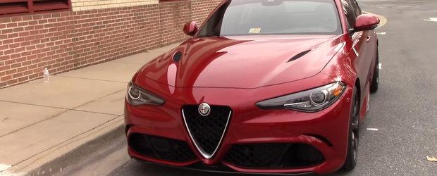 Intrebare intrebatoare: isi merita banii italianca Alfa Romeo Giulia Quadrifoglio?