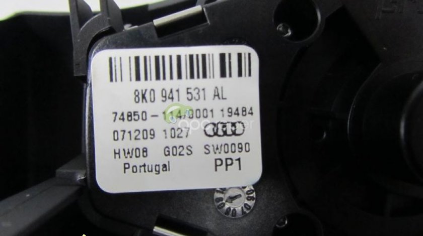 Intrerupator faruri original Audi A4 8K A5 8T Q5 8R cod 8K0941531AL