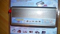 INVERTOR AUTO 1000W CU USB 190 LEI