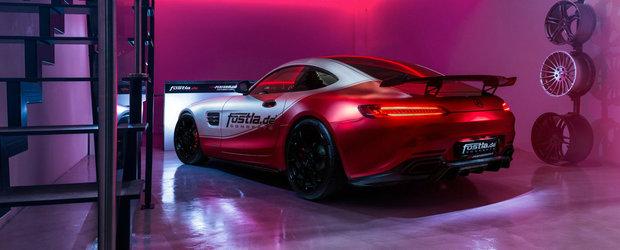 Investitie neinspirata: are un Mercedes-AMG GT S si a platit 28.000 de euro pentru 91 de cai in plus