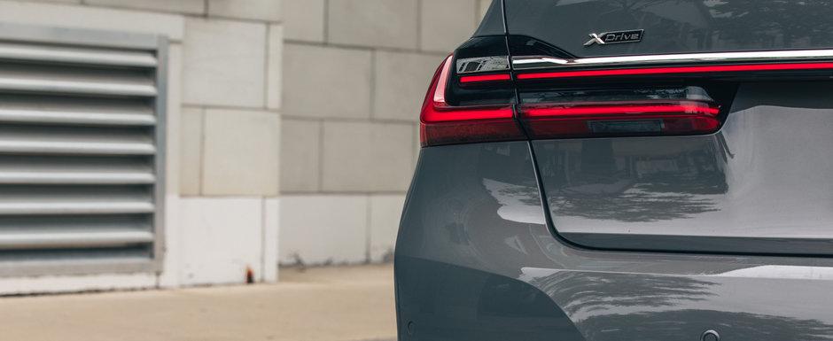 Invidiosi pe noul S-Class, nemtii de la BMW scot in teste noua generatie SERIA 7. Modificarile primite de nava amiral